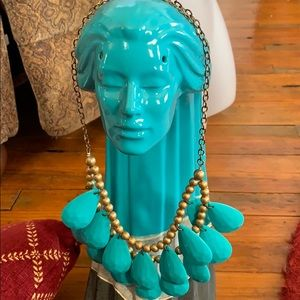 unknown Jewelry - Great southwestern necklace 16 turquoise beads